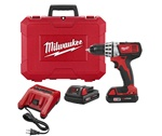 Milwaukee M18 Cordless 1/2in Compact Drill Driver Kit